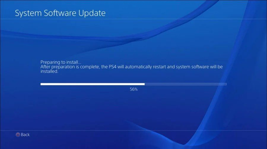 PS4 firmware 4.55