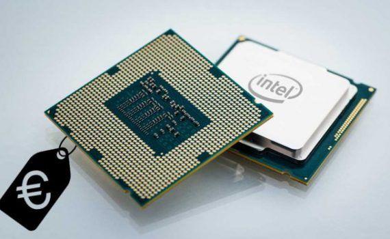 Procesadores Intel rebajas