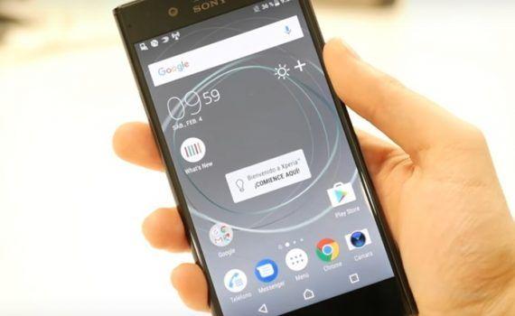 Sony móviles gama media