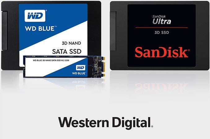 Western Digital SSD 3D NAND