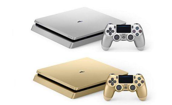 PS4 plateada PS4 dorada