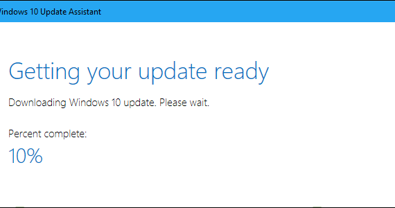 Actualización Windows