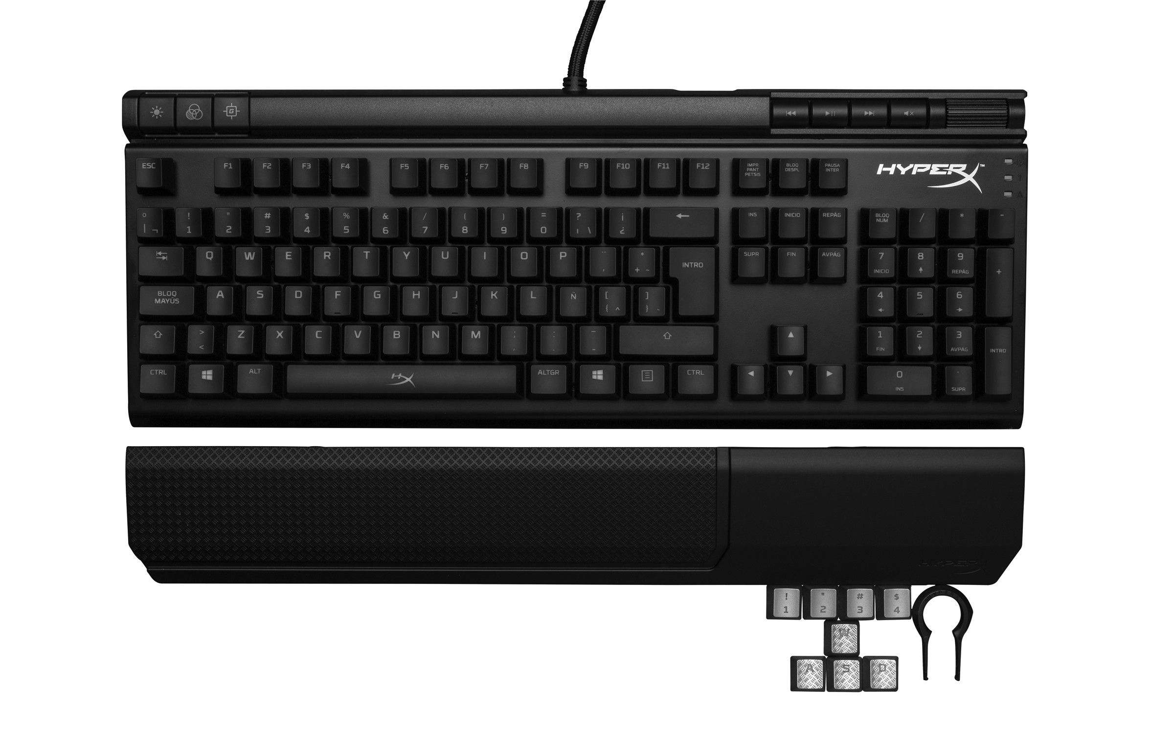 HyperX Alloy FPS Mechanical Pro Gaming Keyboard y Alloy Elite Mechanical Gaming Keyboard