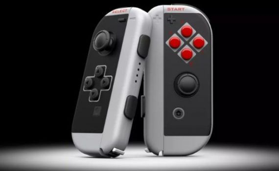 Nintendo Switch mandos NES