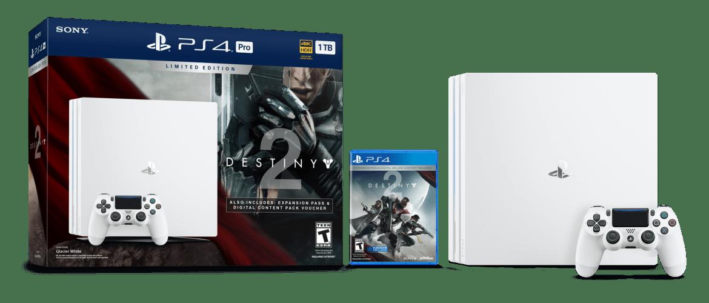 Sony PS4 Pro blanca Destiny 2