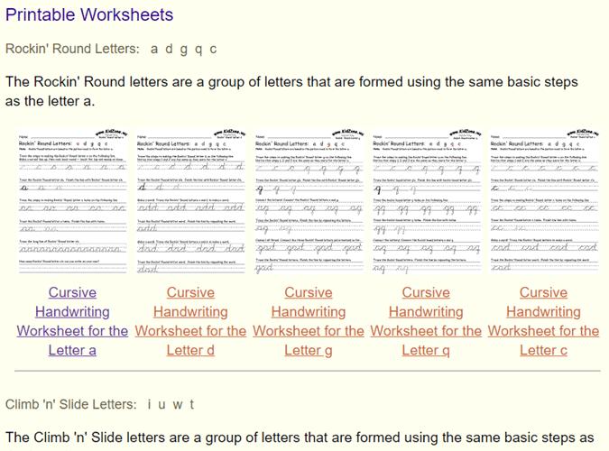 10 hojas de trabajo de escritura imprimible para practicar la ...