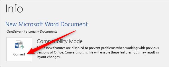 Como reducir el tamano a un archivo de word