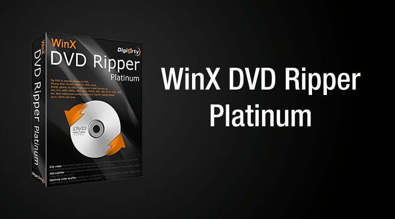 WinXDVD copia de seguridad dvd