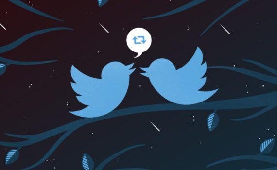 interfaz de Twitter