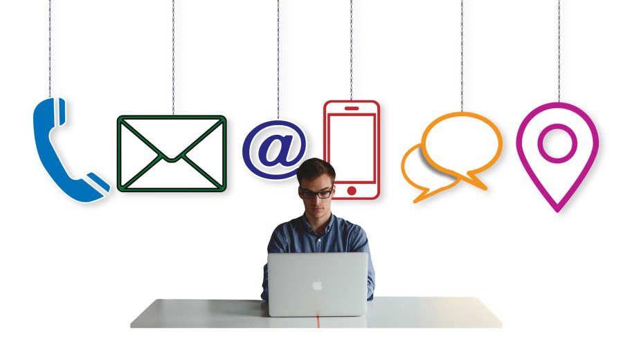 correos electrónicos