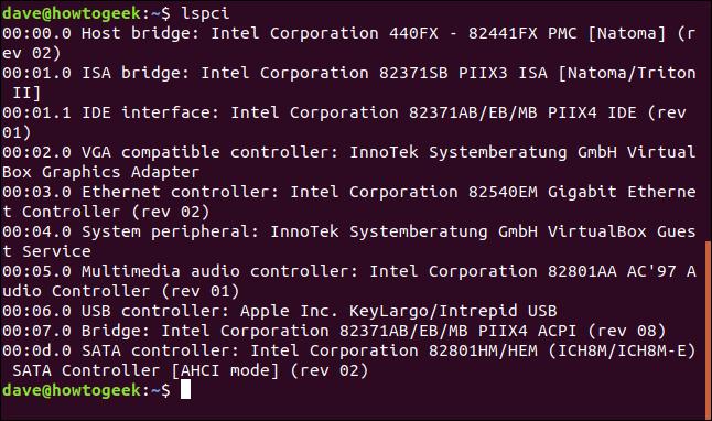 terminal de linux