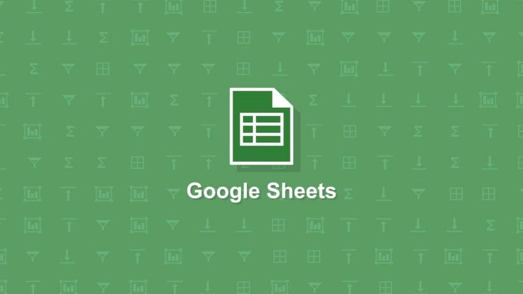 filas en google sheets