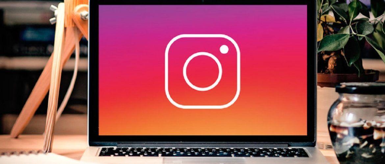 instagram usando chrome
