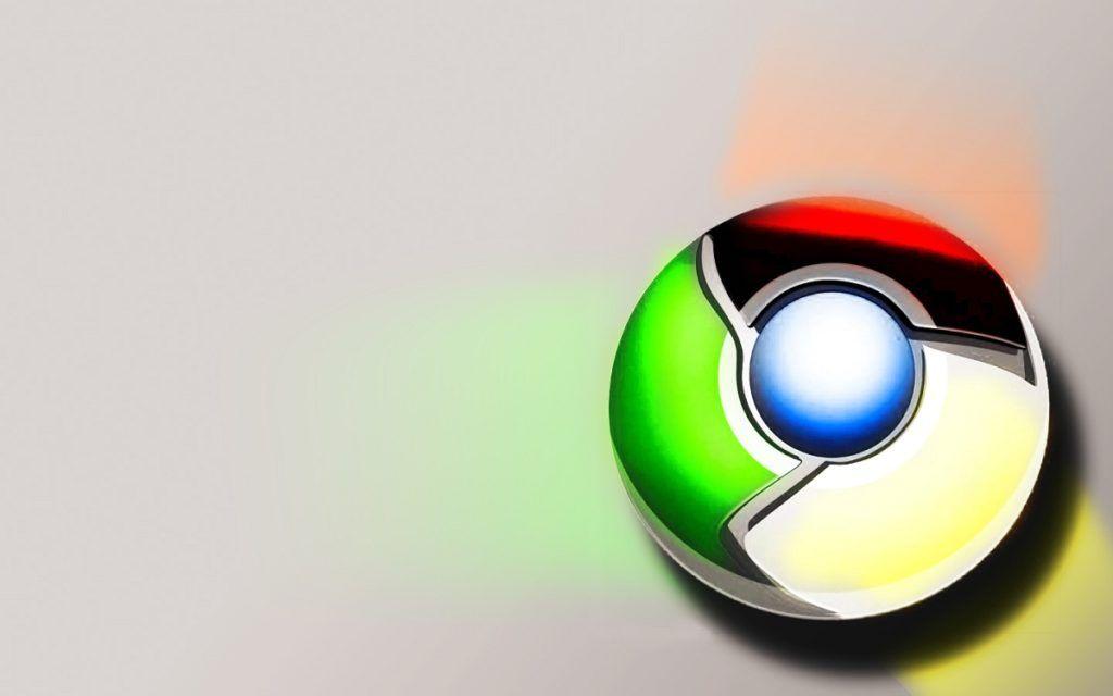 Website en Google Chrome