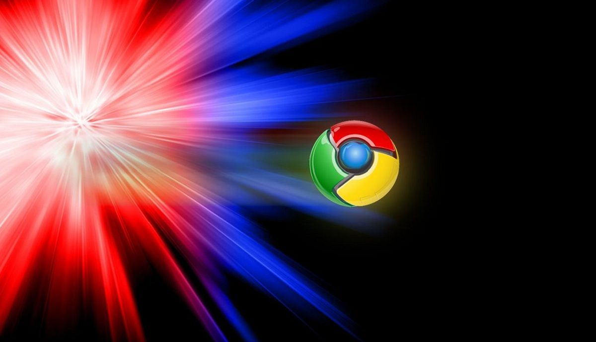 Website en Google Chrome