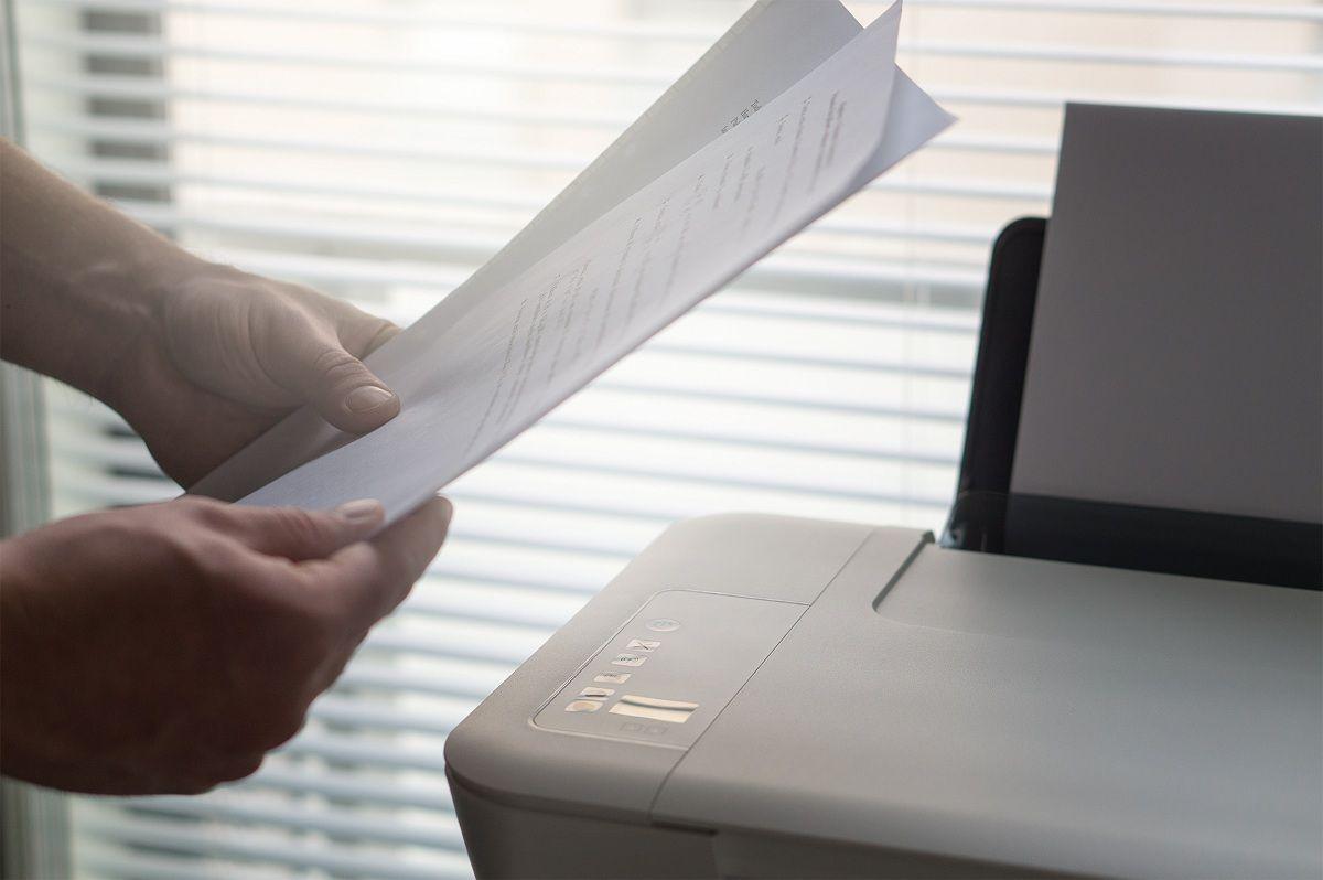 documentos impresos