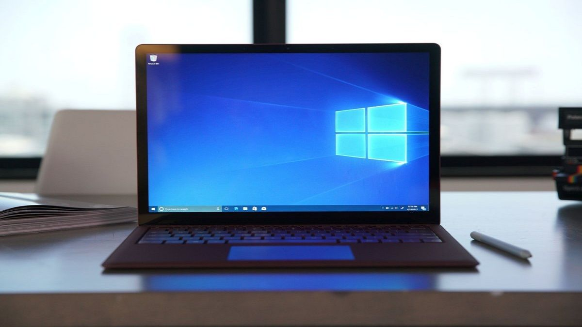 laptop con windows 10
