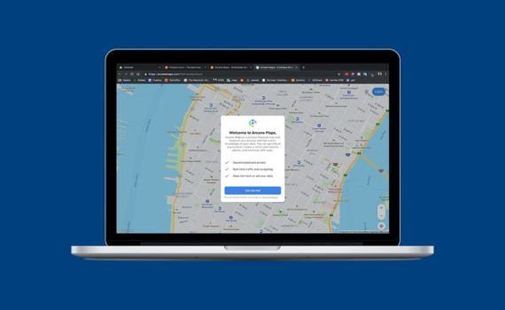 mapas en windows 10