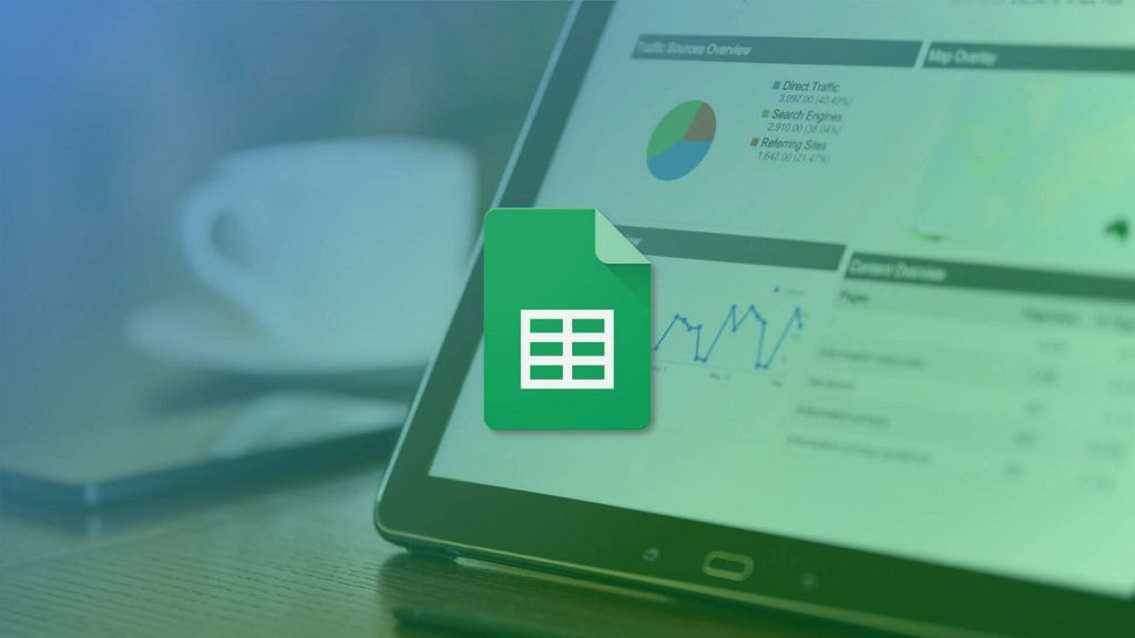 números en google sheets