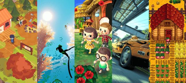 Los 5 mejores juegos para combatir el estrés