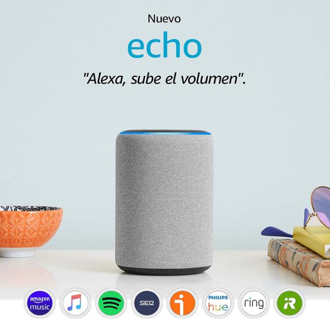 Nuevo Amazon Echo 3ª Generación