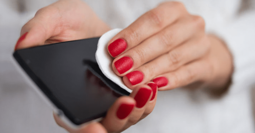 desinfectar móvil