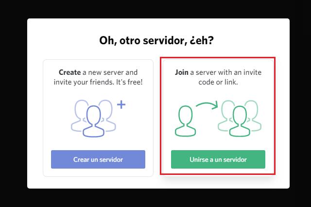 Cómo unirse a un servidor Discord
