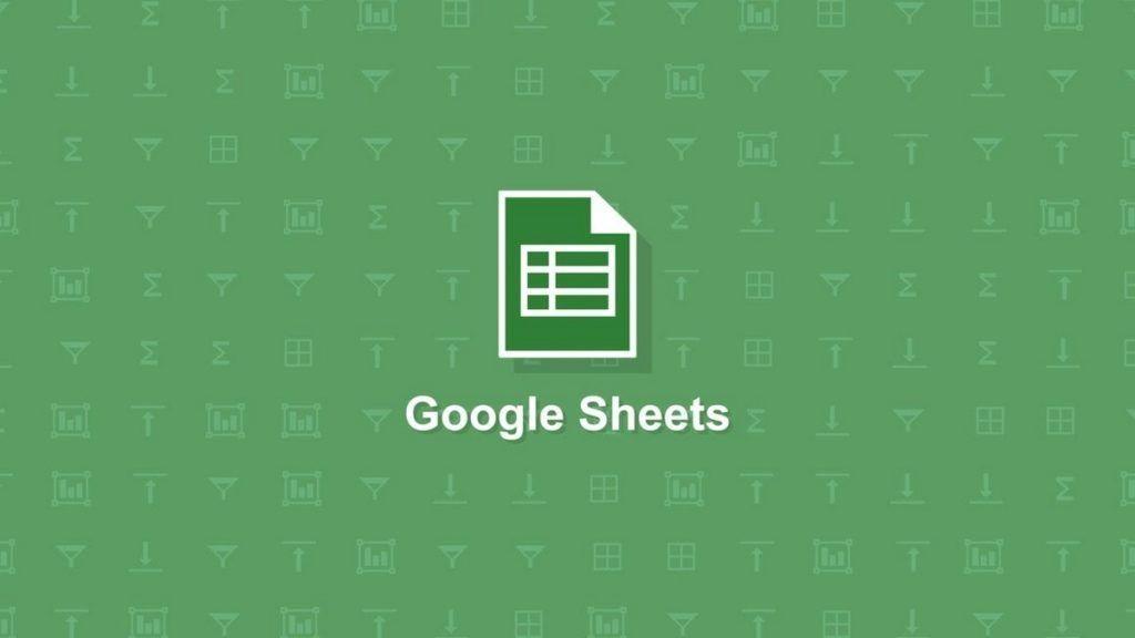 filtrar datos en google sheets