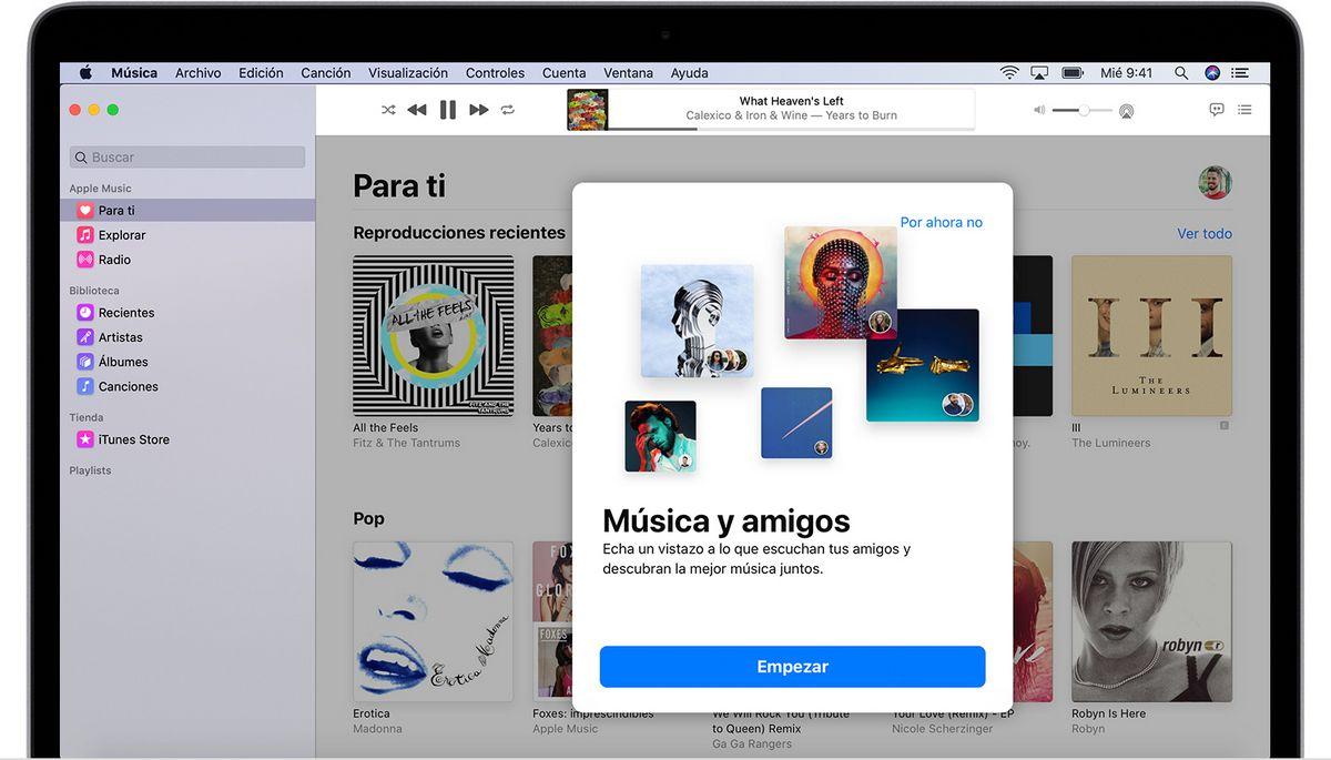 funciones de iTunes