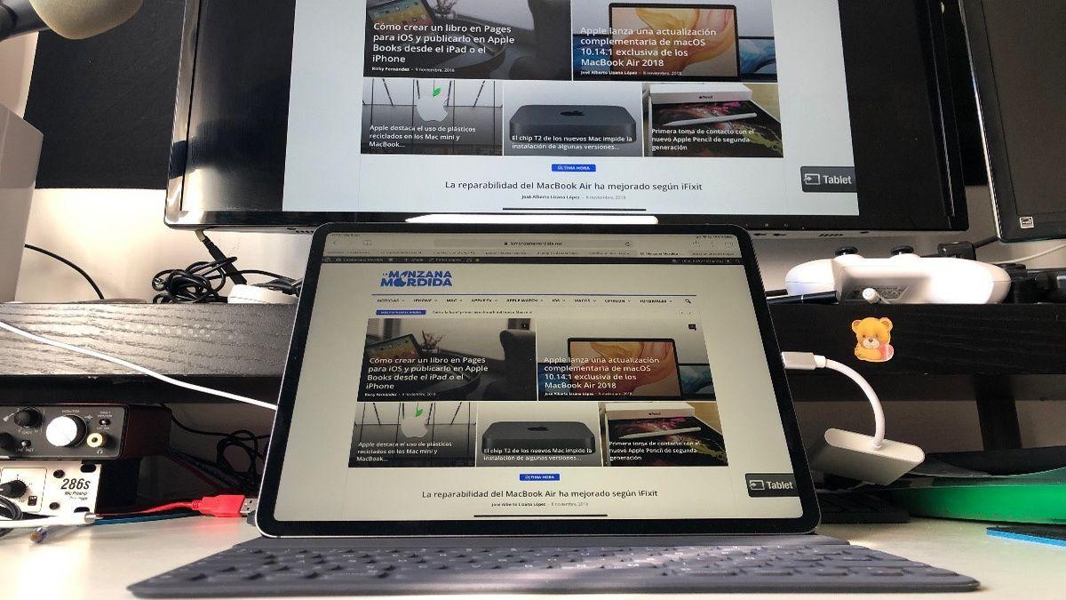 Utiliza tu iPad como una pantalla externa de Mac con Sidecar