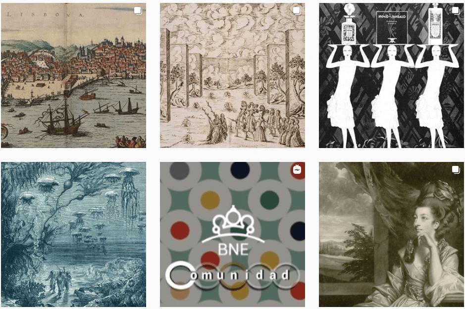Instagram Biblioteca Nacional de España