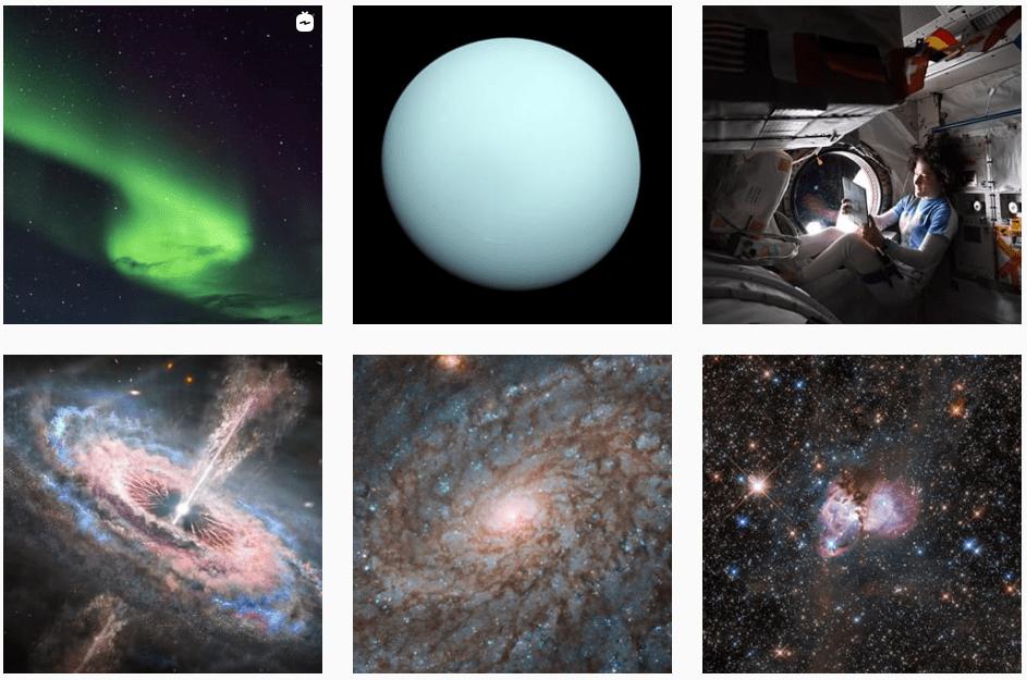 Instagram NASA
