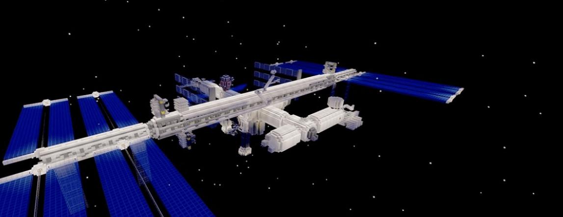 Minecraft ofrece a los estudiantes dar un recorrido gratis por la ISS