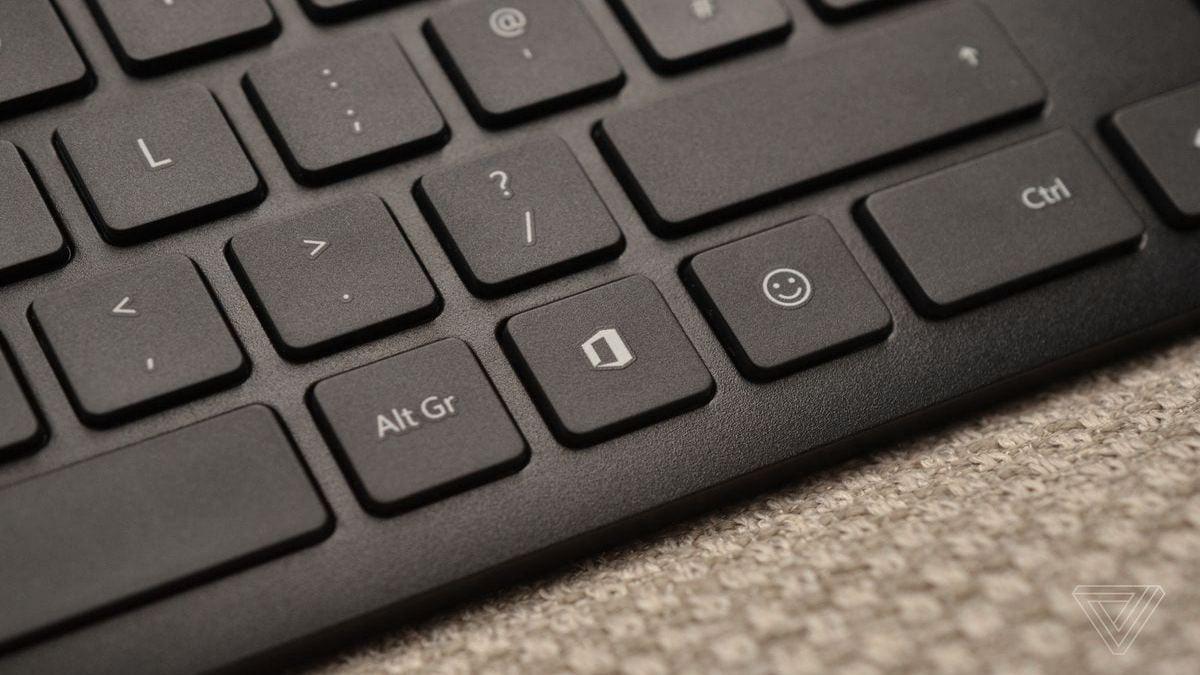 la tecla de Office en tu teclado