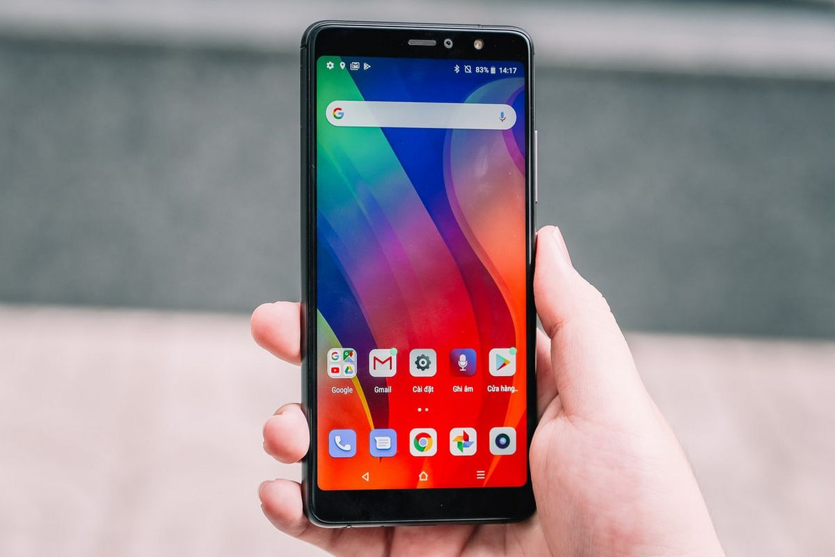 pantalla táctil en android
