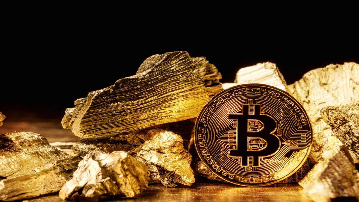 precio del bitcoin y el oro