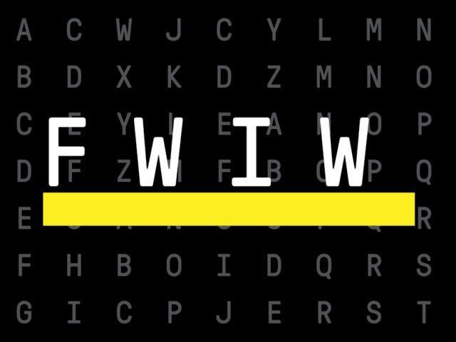 ¿Qué significa «FWIW» y cómo puedes utilizarlo?