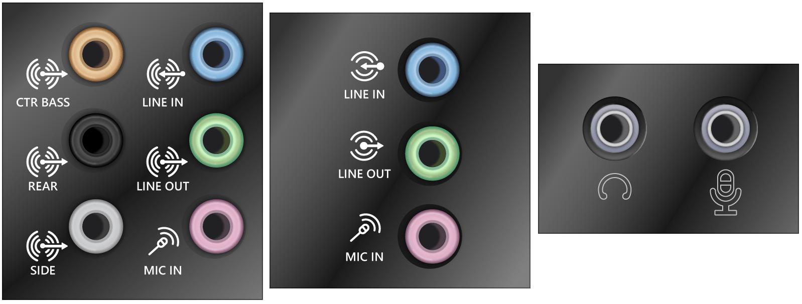 conexiones de sonido placa base