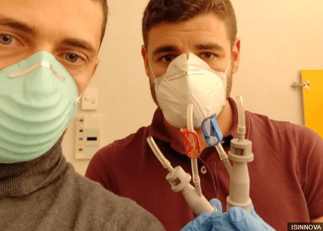 Mascarillas de protección coronavirus fabricadas en impresoras 3D