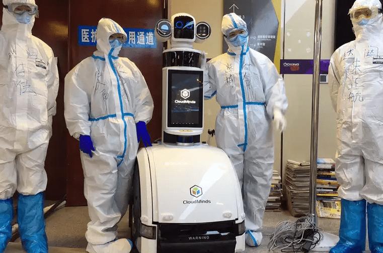 robot para evitar coronavirus