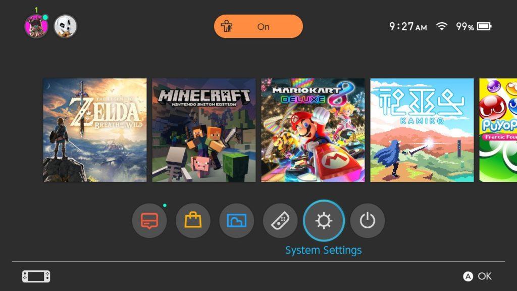 Actualizar juegos en Nintendo Switch 2