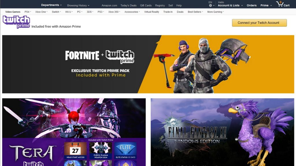 ¿Cómo desconectar tu cuenta de Twitch de Amazon Prime?