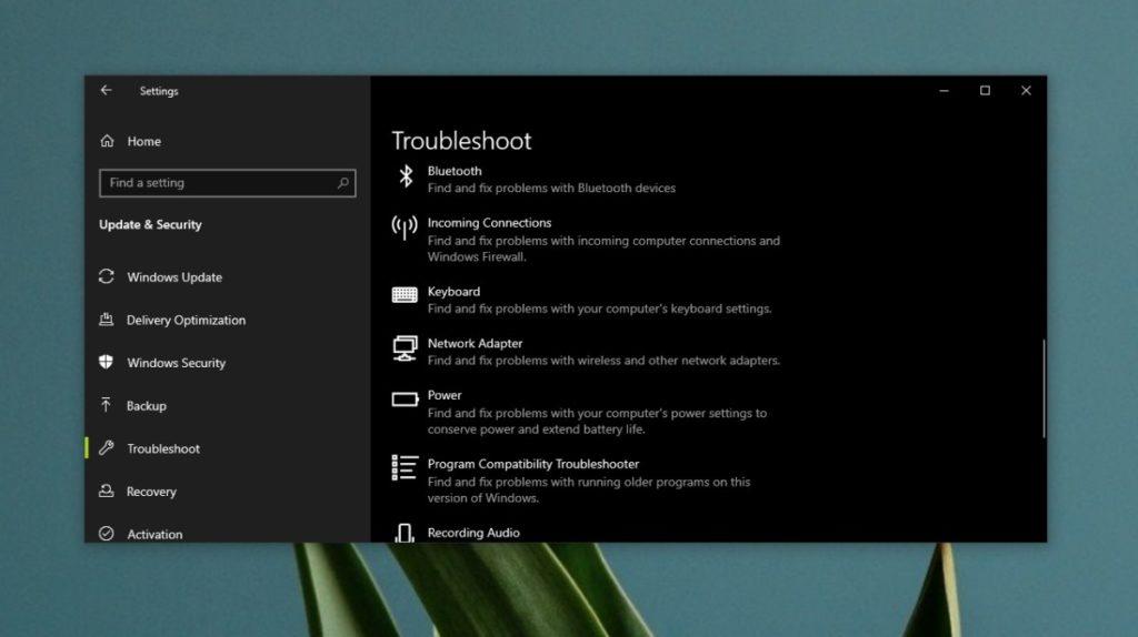 Evitar desconexión de WiFi bloqueo Windows 10 3