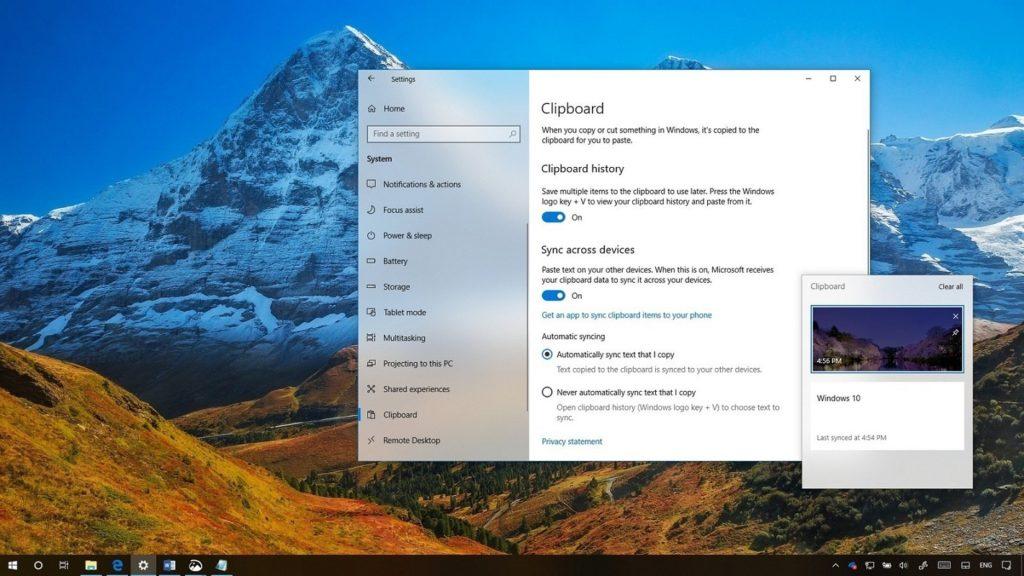 ¿Cómo limpiar tu historial del portapapeles en Windows 10?