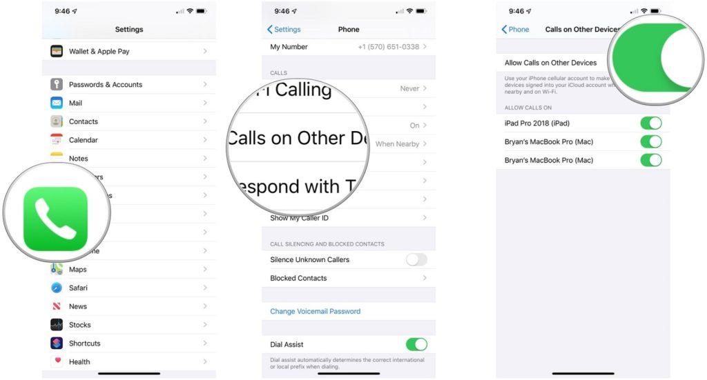 Llamar por teléfono desde Mac 2