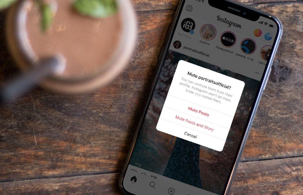 ¿Cómo silenciar un usuario en Instagram?