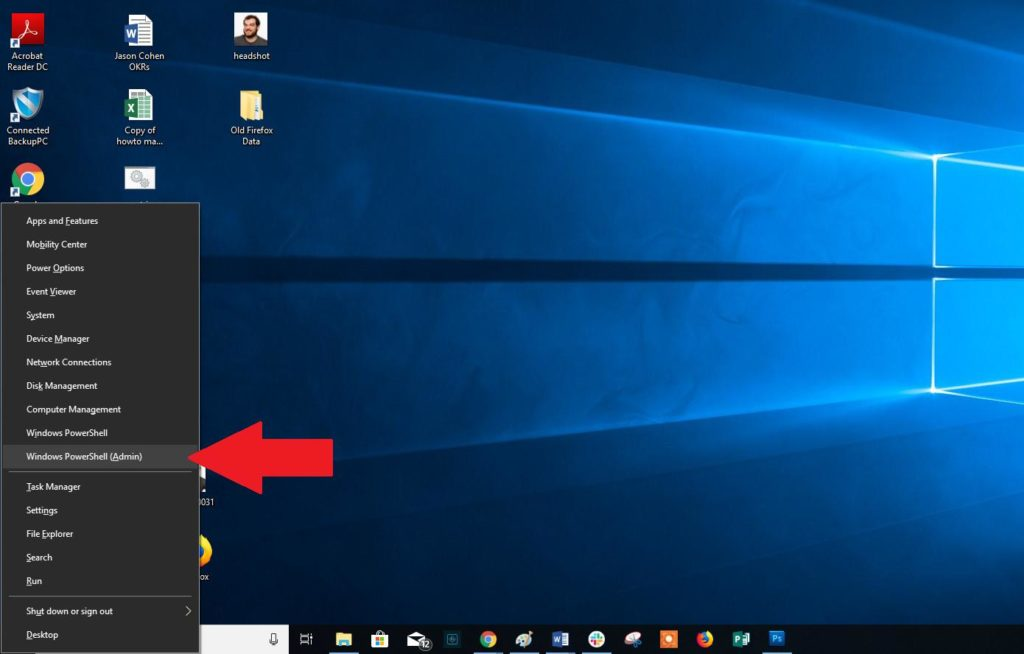 Ver estado de la batería portátil Windows 10 2