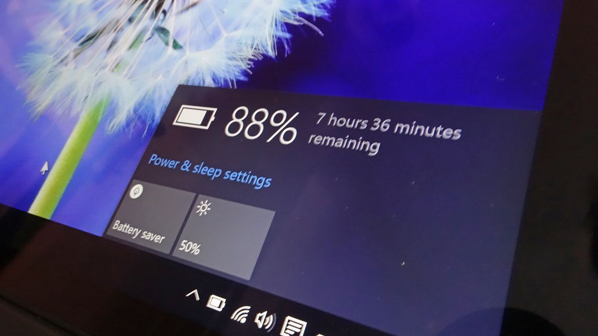 Ver estado de la batería portátil Windows 10 1