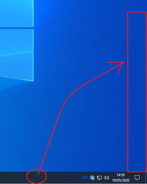 vertical barra de tareas