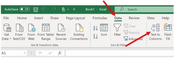 dividir celdas Excel